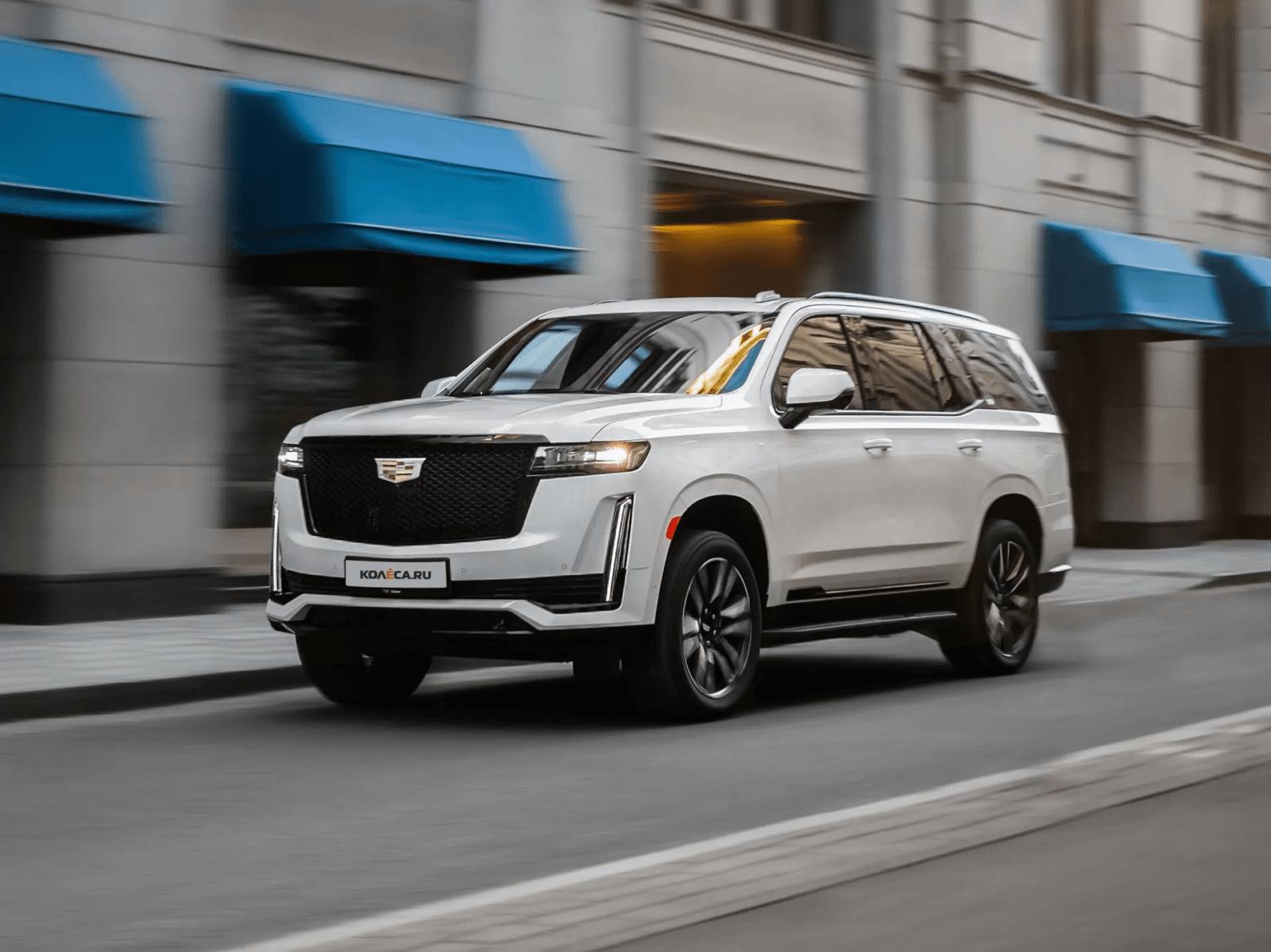 Изогнутый дисплей, 10 ступеней АКП и 6,6 секунды до 100: тест обновлённого Cadillac Escalade (8 фото + 3 видео)