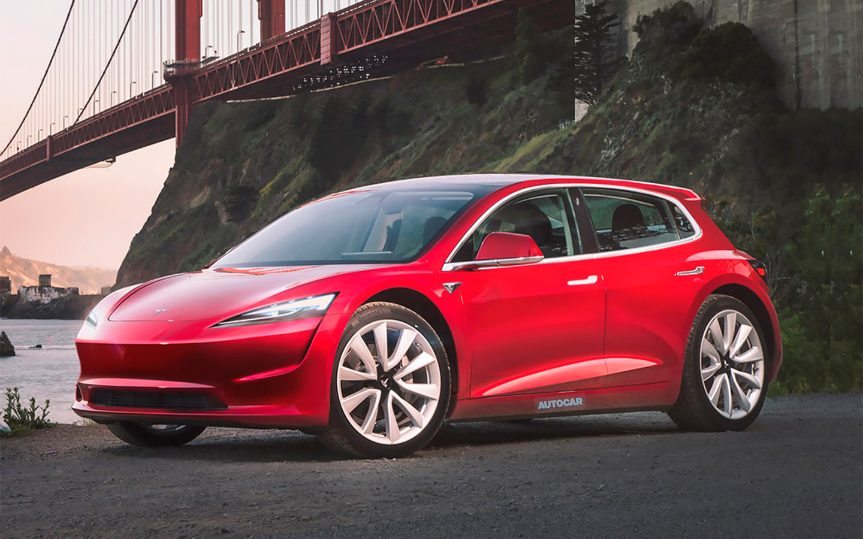 Названы сроки появления самого дешевого электрокара Tesla