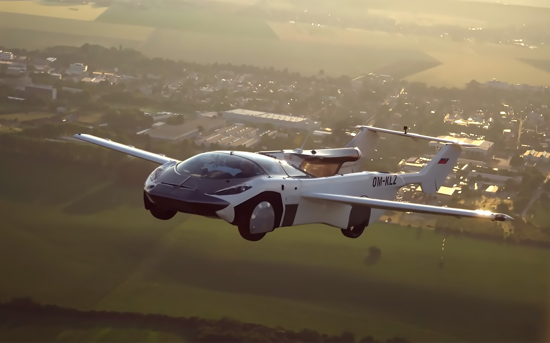 Летающий автомобиль впервые совершил междугородний полет