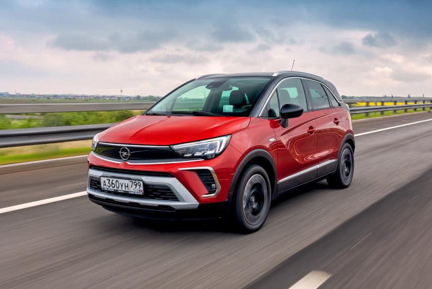 Opel Crossland: для Европы обновленный, для нас - новый!