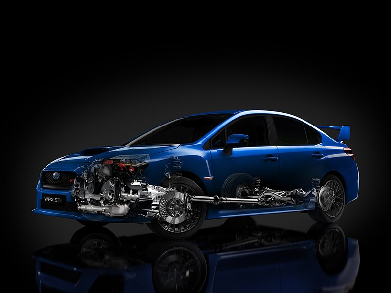 Subaru приоткрыла завесу тайны над новым WRX