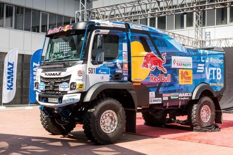 КАМАЗ представил раллийный болид с кабиной K5