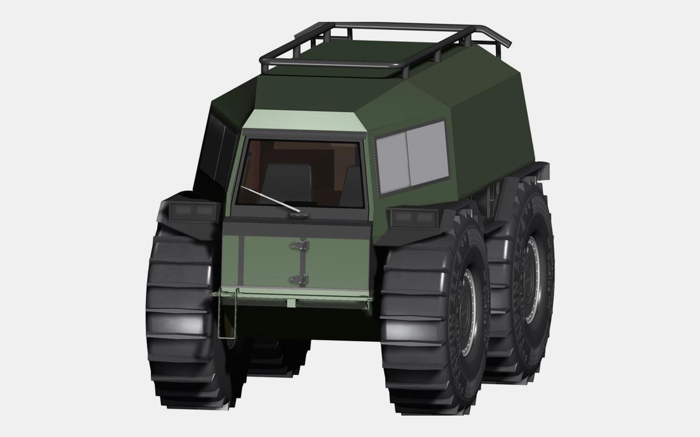 В России запатентовали вездеход в стиле «Шерпа» (2 фото)
