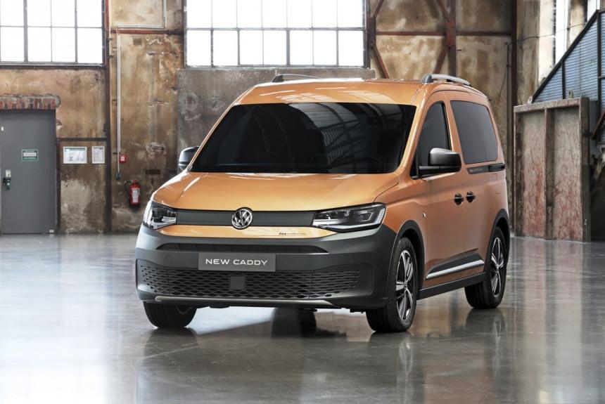 В Европе начались продажи Volkswagen Caddy в версии PanAmericana (1 фото)