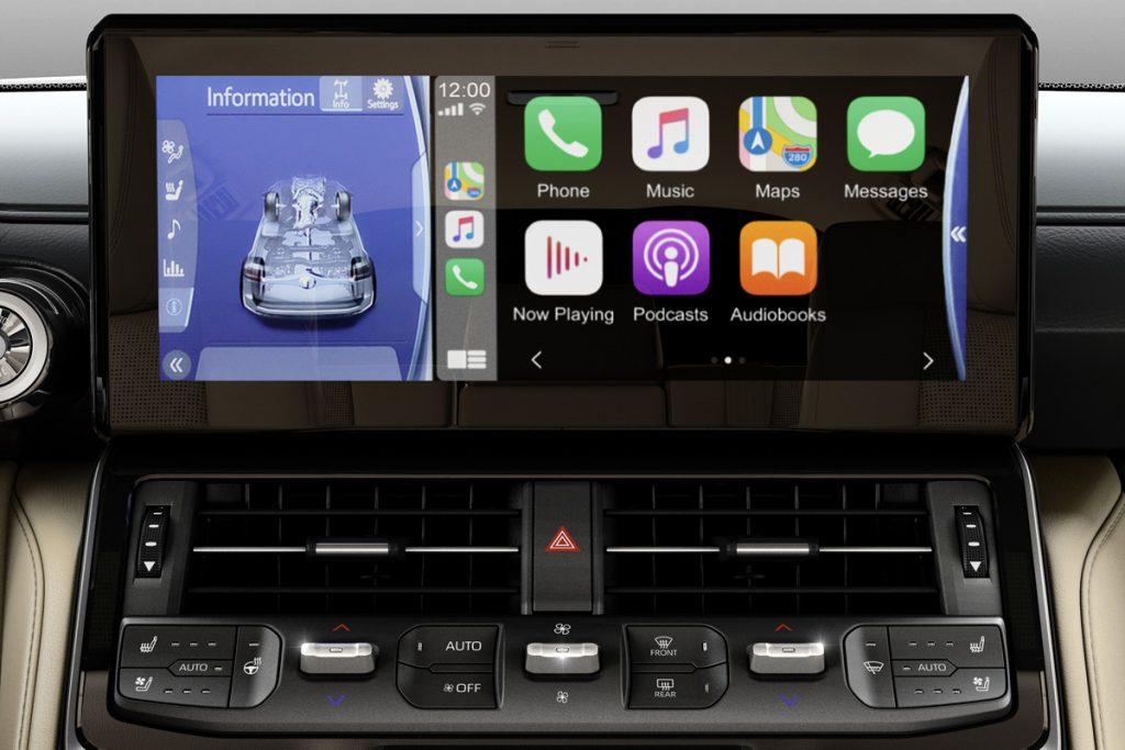 toyota land cruiser 300 multimedia - Автоновости ДНР - Продажа и пригон авто из США, ОАЕ, Литвы, Грузии, Германии