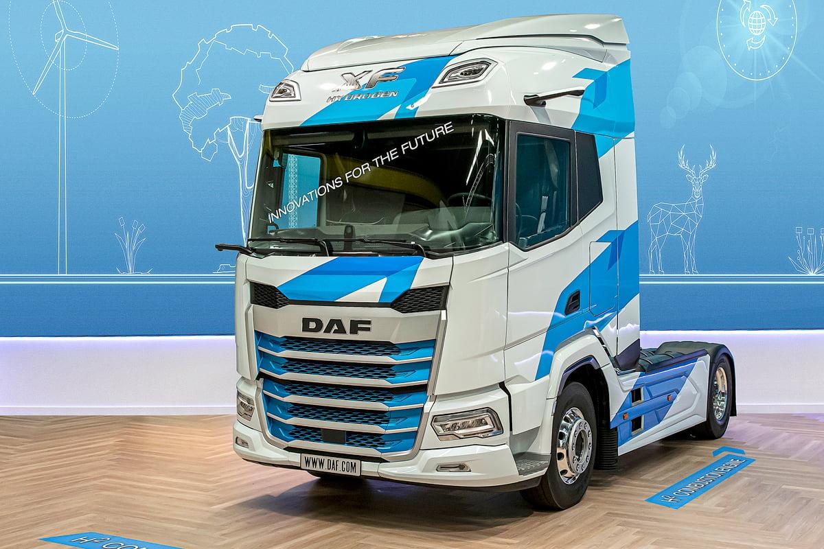 01 new generation daf xf prototype featuring hydrogen technology - Автоновости ДНР - Продажа и пригон авто из США, ОАЕ, Литвы, Грузии, Германии