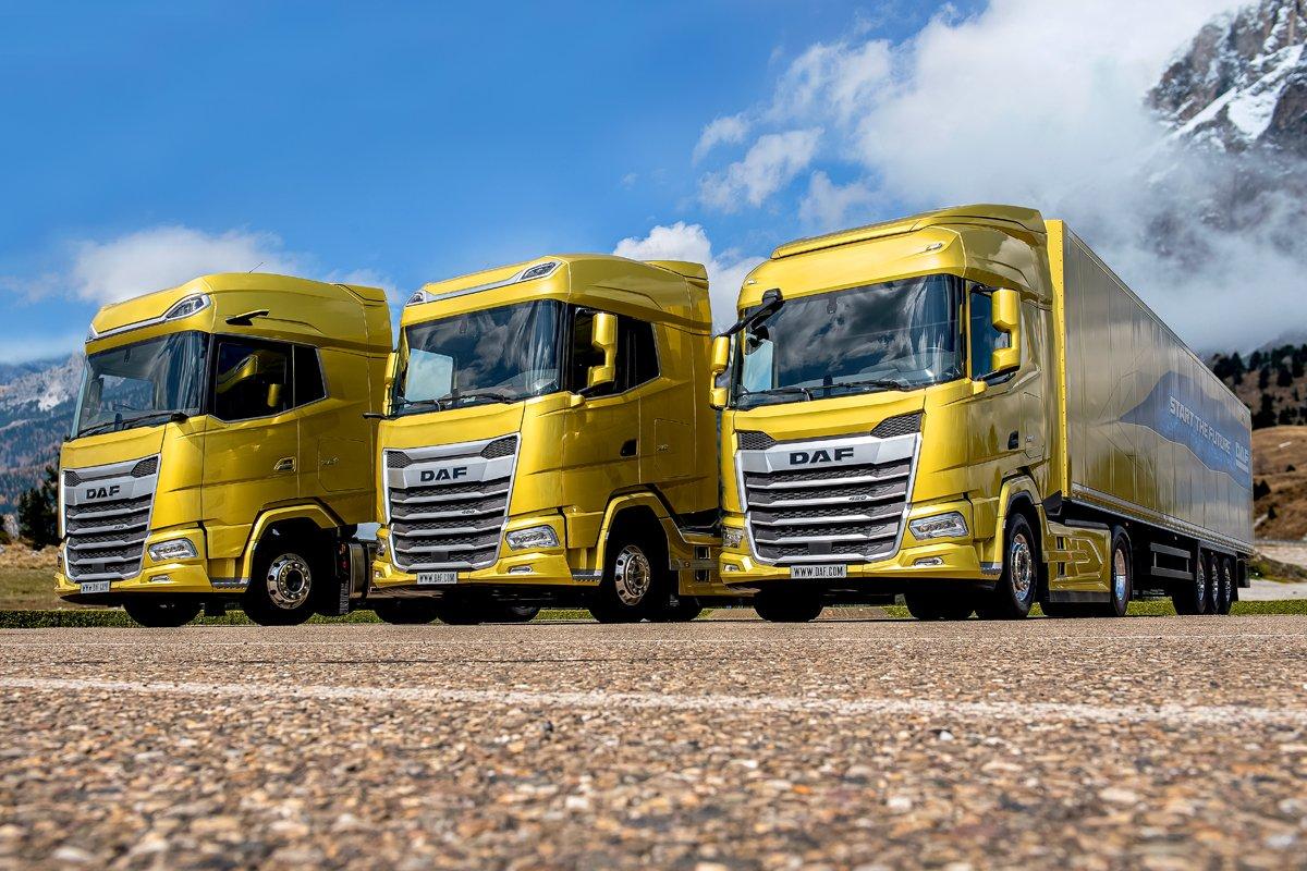 01 the new generation daf trucks 2021 from left to right xgplus xg and - Автоновости ДНР - Продажа и пригон авто из США, ОАЕ, Литвы, Грузии, Германии