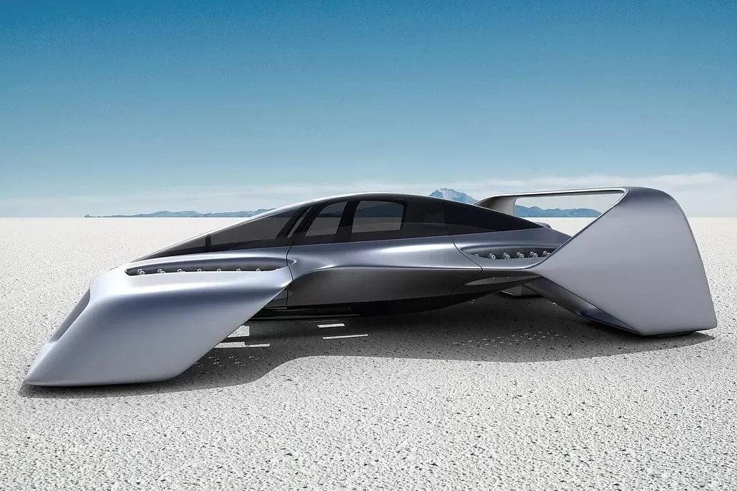 Летающий суперкар Leo Coupe от экс-дизайнера Mazda: 400 км/ч и гарантия мягкой посадки (6 фото)