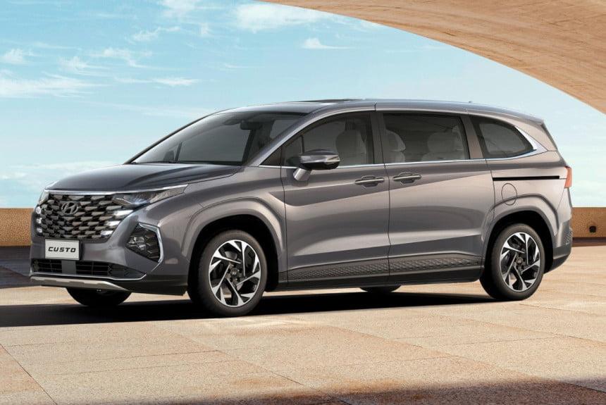 Минивэн Hyundai Custo засветился на официальных фотографиях (4 фото)