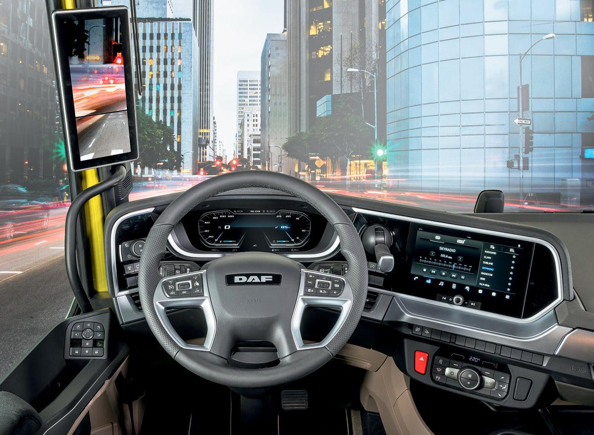 highclass dashboard in new generation daf trucks - Автоновости ДНР - Продажа и пригон авто из США, ОАЕ, Литвы, Грузии, Германии