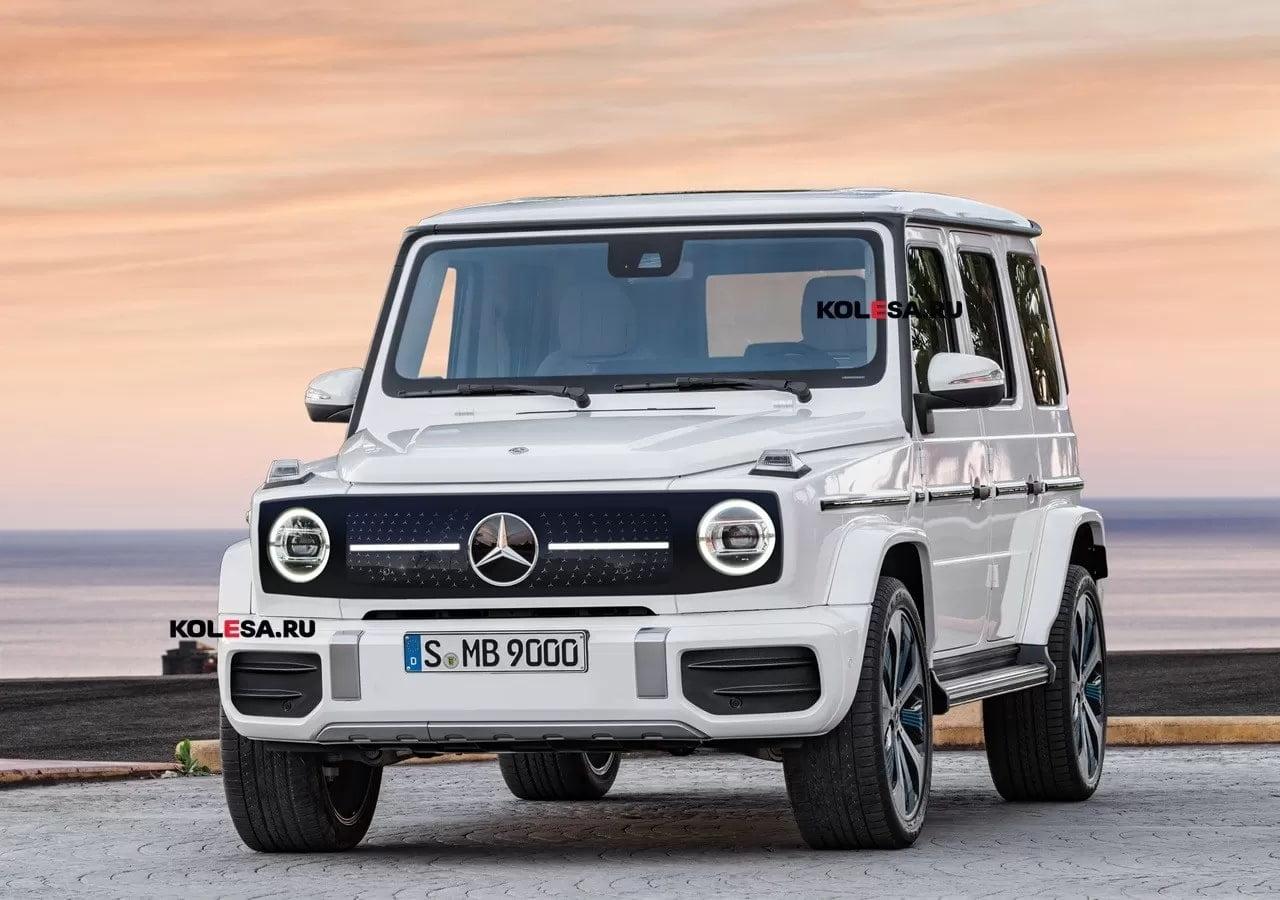 Mercedes-Benz готовит «зелёный» Gelandewagen: первое изображение EQG (4 фото)