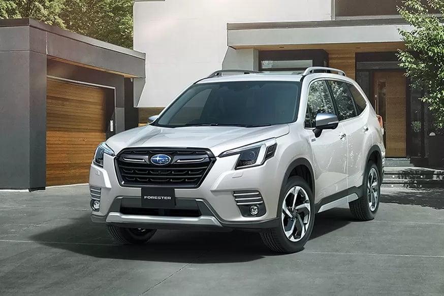 Обновлённый Subaru Forester собрался в Россию: кроссовер предложат с прежними моторами (1 фото + 1 видео)